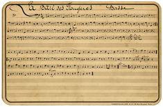 French sheet music