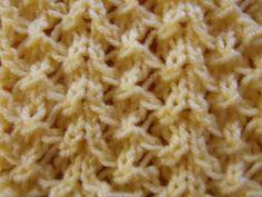 Bead stitch - knitting pattern