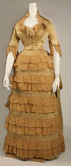 Dress by Jacques Doucet  Date: 1880s Culture: French Medium: silk Accession Number: C.I.37.59.1a, b The Metropolitan Museum of Art
