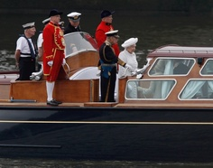 Diamond Jubilee  The Queen's Launch - Queen Elizabeth II at The Jubilee River Pageant - NY Daily News