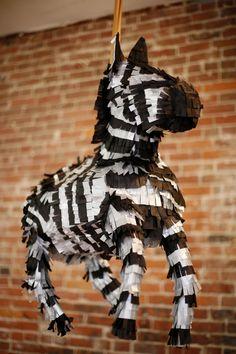 zebra pinata