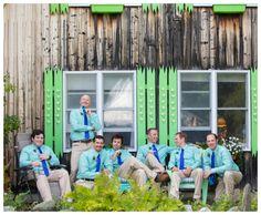 bright groomsmen style