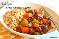 Quick Tips for Slow-Cooker Stews | eMeals