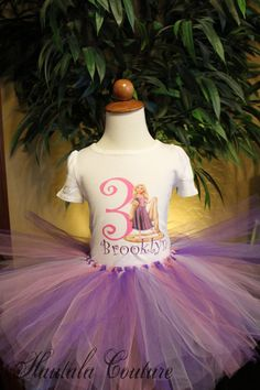 Rapunzel Tangled birthday outfit @Kellie Dyne Hunt..... is this something you could do?