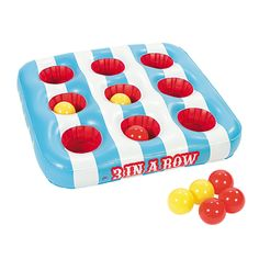 "Inflatable ""3 In A Row"" Carnival Game - OrientalTrading.com 18.00"