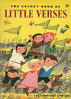 """'Golden Book of Little Verses"""", illustrated by Mary Blair"""