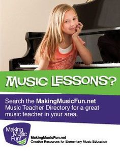 A great resource for finding a music teacher in your area!