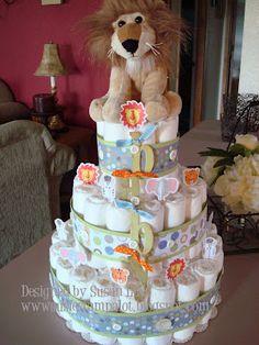 susiestampalot: Diaper Cake Tutorial