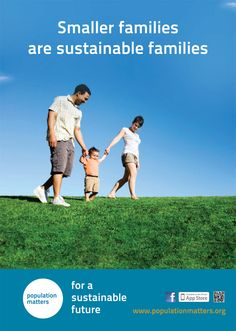 Smaller Families are Sustainable Families Poster