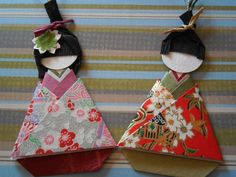 Japanese Origami Doll  Ohinasama**