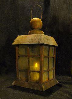 DAVE LOWE DESIGN: O'Treaty's Foamcore Lantern