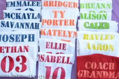 DIY Jersey Style T-Shirt Grand View