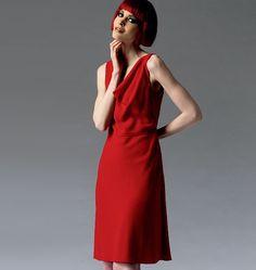 V1351, Misses' Dress