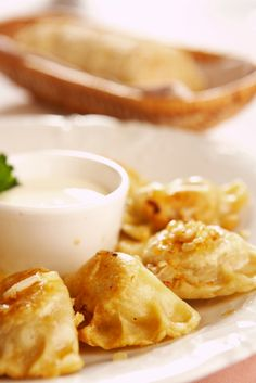 Pierogi Recipe Potato, cheddar, bacon