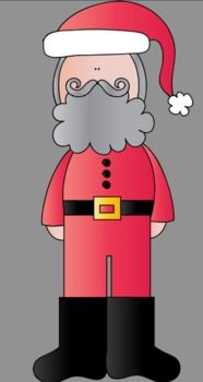Santa Claus Clip Art {Freebie}