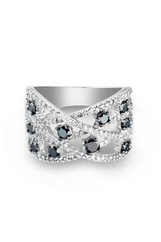 Sizable 1ct Diamond Cocktail Ring