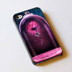 rose iphon, disney rose, bueaty and the beast watch, iphon case, beauty and beast disney
