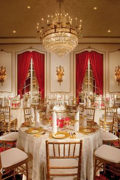 Crystal Ballroom chandelier at The Greenbrier