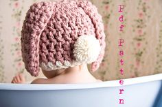 Easter Bunny Hat Crochet Pattern Instant by MySwallowsNest on Etsy, $5.00
