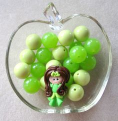 Bubblegum Bead Kit Acrylic Beads Princess by CatsBeadKitsandMore