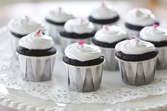 Mini dairy free cupcakes... Yum!!!