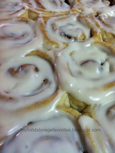 My Food Storage Favorites: How To Make Melissa's Yummy Cinnamon Rolls - Photo Tutorial