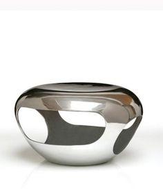 Herve Van der Straeten Tabouret Silver Side Table