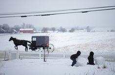 film, christmas parties, amish countri, amish life, winter fun