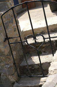 Love Garden gate with heart   ..rh
