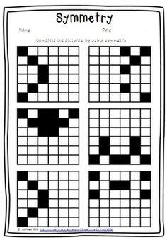 symmetri worksheet