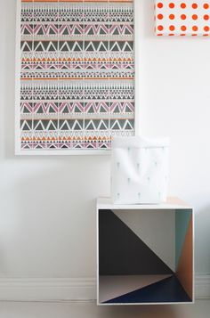 geometric patterns + colors