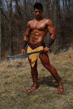 Barbarian #hunk ;)