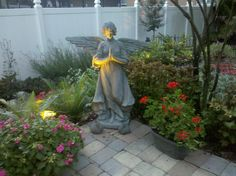 A picture from the garden of my friend, Kandi,  who recently died from ovarian cancer. She is greatly missed.