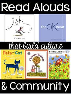 Favorite First Week Read Alouds...