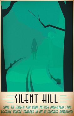 Silent Hill Travel Poster