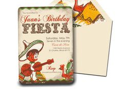 Invitation . Vintage Fiesta Collection . by by LoraleeLewis, $43.00