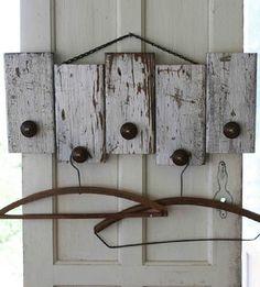 Coat Rack From Wood Scraps