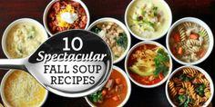 10 Spectacular Fall Soup Recipes
