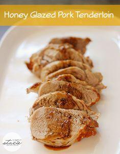 Honey Glazed Pork Tenderloin - Simply Stacie