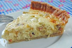 Bacon & Havarti Quiche from @JuanitasCocina