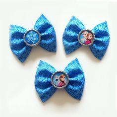 FROZEN - Anna Olaf and Elsa - Disney Hair Bows