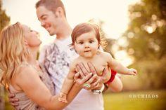 Family of 3. family-photo-ideas