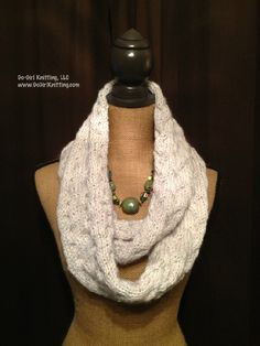 Stardust Cowl Knitting Pattern