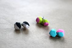 The Forge: diy: geometric earrings