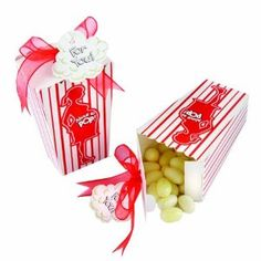 This is already assembled and cheap! popcorn babi, popcorn favor, kate aspen, baby shower favors, favor boxes, shower idea, babi shower, parti, baby showers