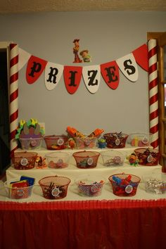 """Photo 1 of 32: Toy Story Midway Mania Carnival / Birthday """"Toy Story Midway Mania"""" 