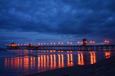 Huntington Beach, California - Where I spent my summers growing up.