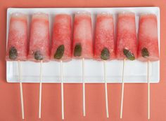 mojito popsicles? yes.