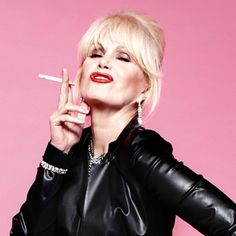 "Joanna Lumley as Patsy Stone in ""Absolutely Fabulous."""