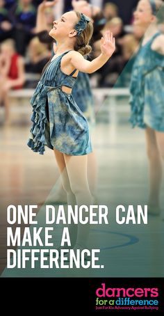 One dancer can make a difference. Learn more at: https://www.justforkix.com/dancersforadifference